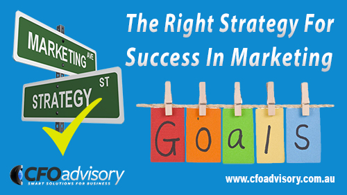 The Right Strategy dor Success in Marketing Blog Image